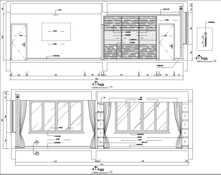 [上海]富春中式风格5层独立别墅施工图_9