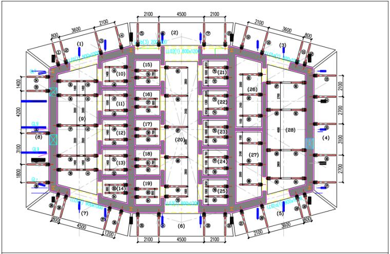 18万㎡大体量超高层220m施工组织设计(468页,解析详细)