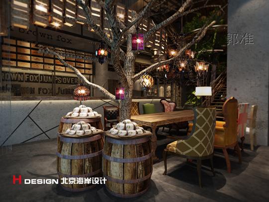 天津塘沽区咖啡厅设计案例_4