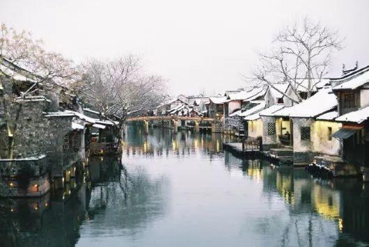 当最美的古镇下了雪,简直惊艳了整个冬天_14