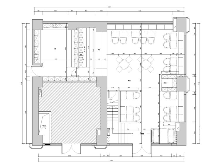 [广东]深圳某咖啡店室内设计施工图