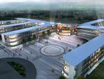 [江苏]城南新区九年制学校及附属幼儿园建筑设计方案文本