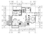 [江苏]湖玺两层别墅样板房室内装饰施工图及效果图