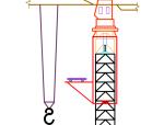 附着塔吊施工动画演示