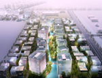 [江苏]某现代风格商业产业园建筑方案文本(PDF+100页