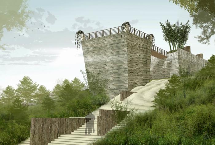 [福建]碧水丹山茶博园度假区广场景观设计方案