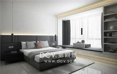 西安口碑最好的极简平层别墅设计-紫汀苑_5