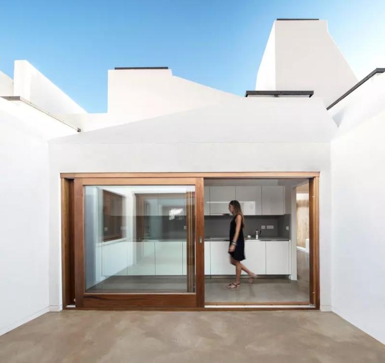 西班牙拉帕尔马岛的住宅