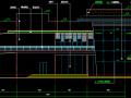 多层带网架顶钢结构会所设计图