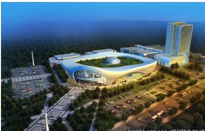 高层现代风格嘉兴汽车商贸园总体规划(含3套方案)