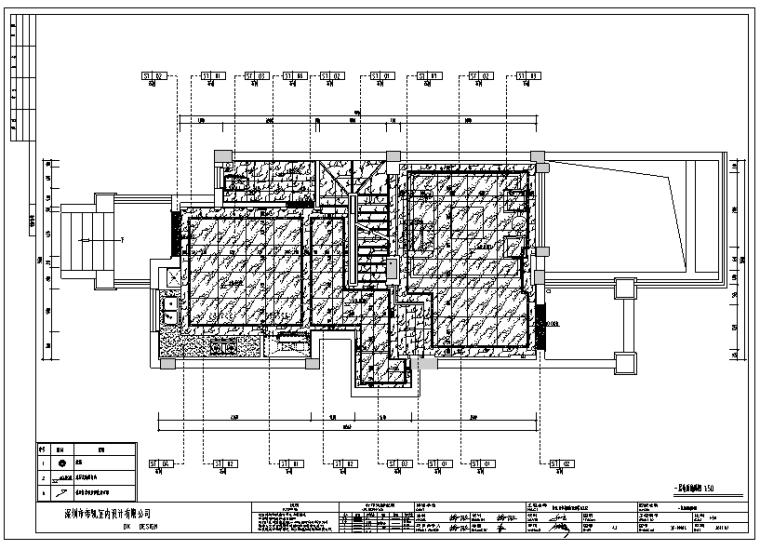 简约中式风格保亿.丽景英郡样板房设计施工图(附效果图)