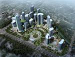 浙江海宁市总部经济地块建筑方案概念性设计