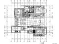 [福建]现代简约风格三居室住宅设计施工图(附效果图)