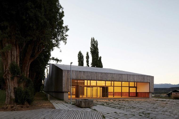 智利木质外立面的博物馆