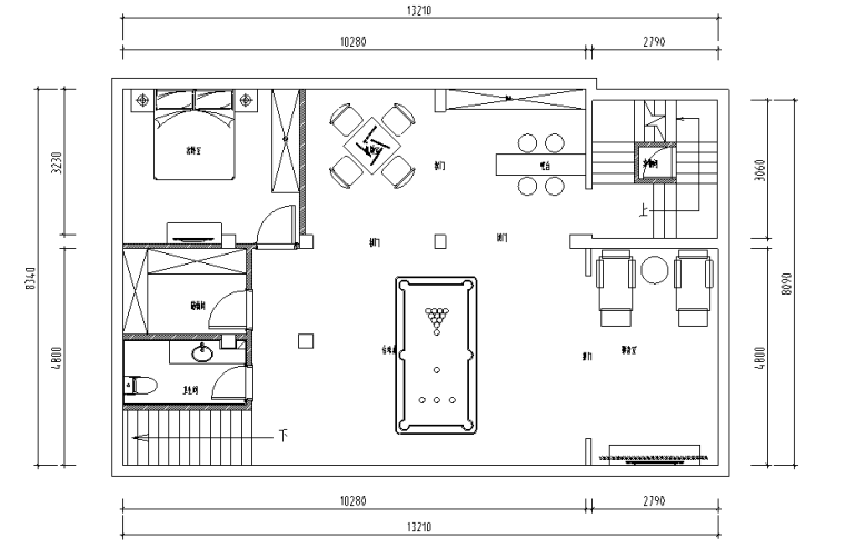 尚澜湾美式别墅设计施工图(附效果图)