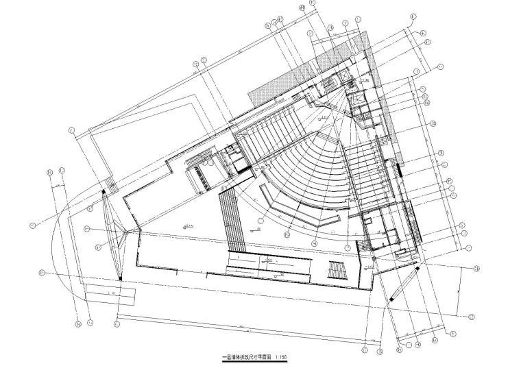 [上海]万科艺术中心室内设计方案+内装施工图+效果图+物料表
