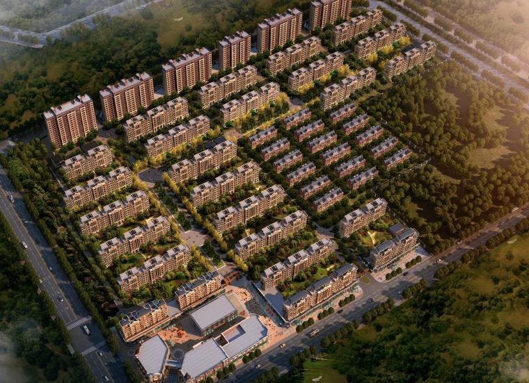 [上海]中式别墅区建筑设计方案文本(天地云墅,现代典雅)