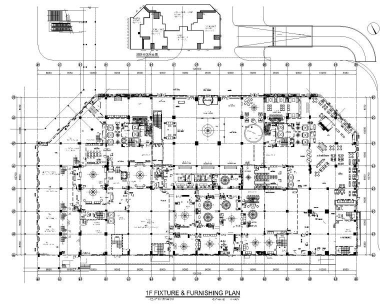 CCD--广州某希尔顿酒店设计CAD施工图+PDF概念方案文本