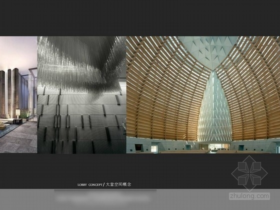 [深圳]某五星级机场酒店室内设计方案图 概念