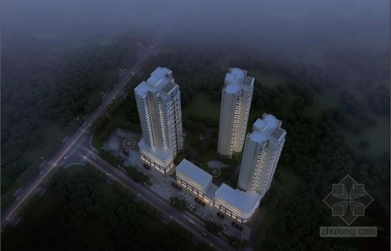 [青海]高层现代风格中高档住宅小区建筑设计方案文本(含投资估算表)