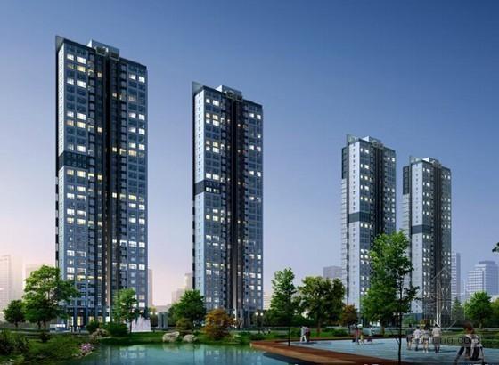 18层住宅建筑安装工程预算书(地下室 施工组织设计)