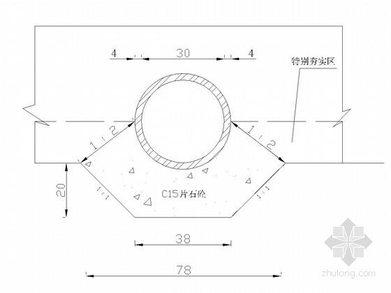 [重庆]农村公路工程施工图设计5张