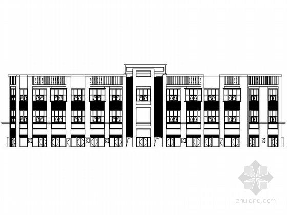 [江西]4层现代风格商场建筑设计方案图(知名地产)