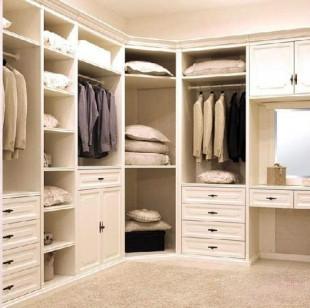 你了解整体衣柜的风格有哪些吗-整体衣柜装修图