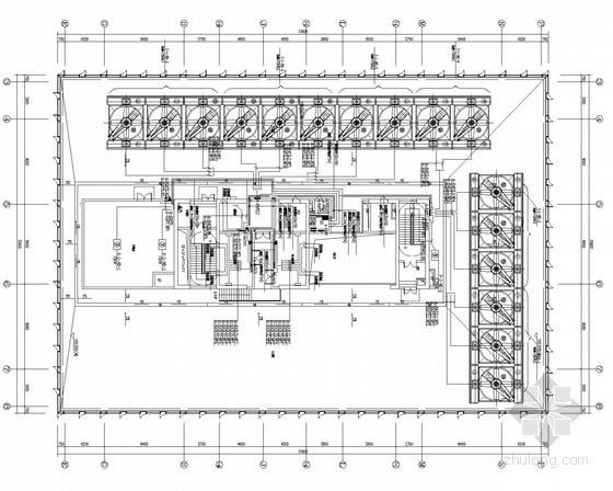 [广东]超大型办公楼电气全套施工图含负荷计算书139张(2016知名设计所)