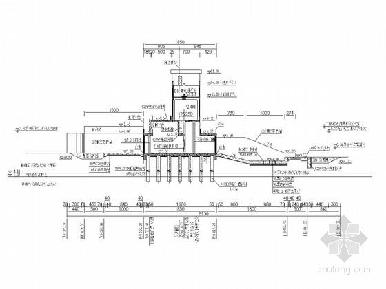 [浙江]小型开敞式水闸工程施工图