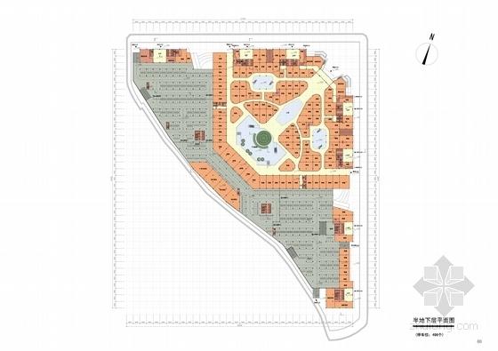 [浙江]现代风格电子商务信息港规划设计方案文本-现代风格电子商务信息港规划平面图