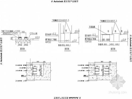 城市道路截污管网工程电气工程设计套图(21张)