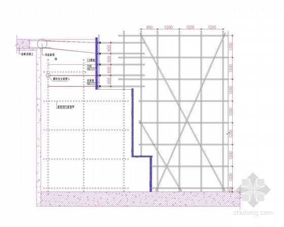 [北京]体育场工程弧形墙模板施工方案(附图)