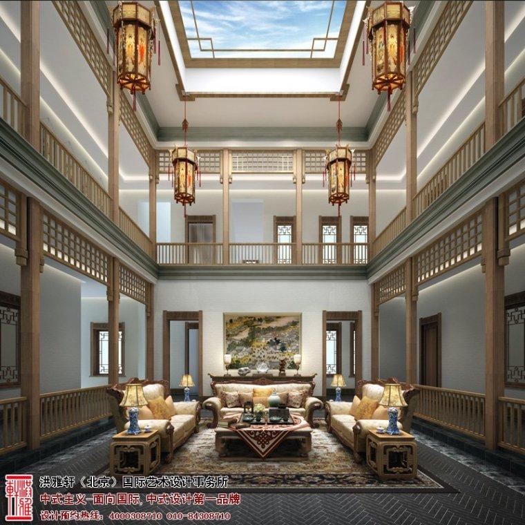 中华百园别墅新中式风格清幽简净古朴高雅_3