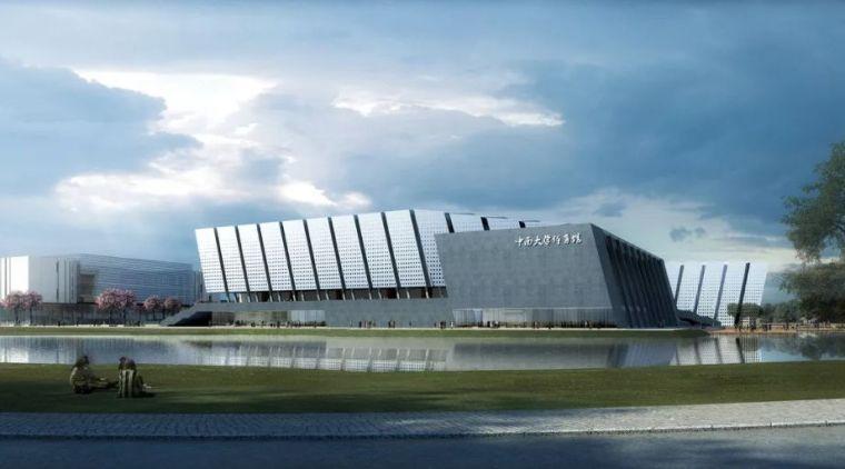 案例赏析 | 长沙市中南大学新校区体育馆含游泳馆项目