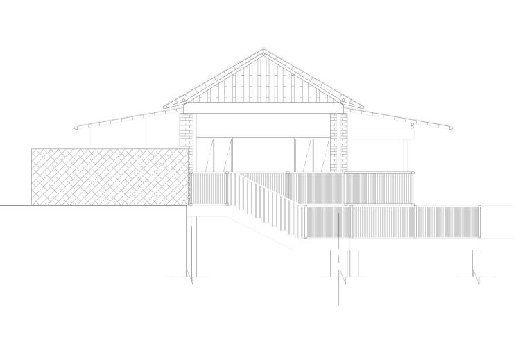 两层渡假村茶室全套施工图