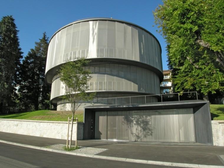 优雅内敛,现代先锋螺旋生长的瑞士办公楼