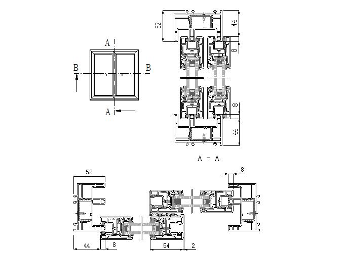 实德型材门窗制作与安装规范手册_4