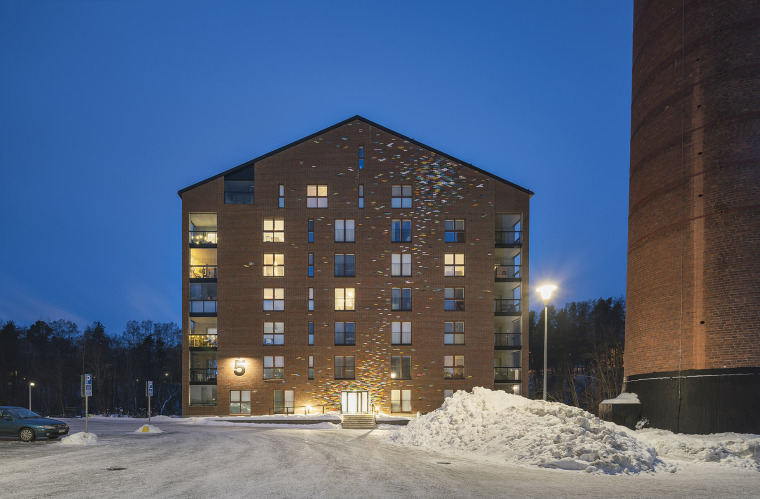 芬兰Albertinpiha公寓楼-10