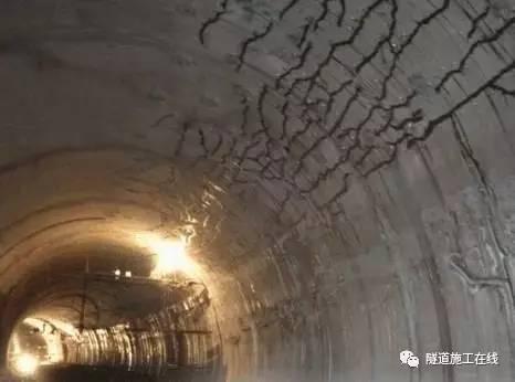 隧道二次衬砌裂缝的分析与防治_2