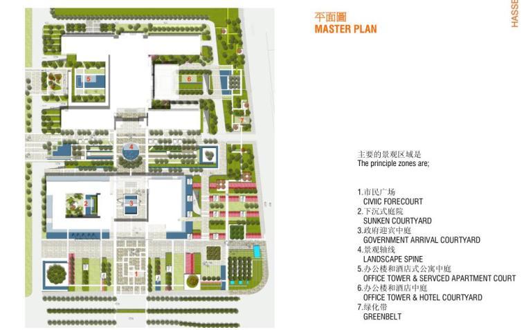 [浙江]某东部国际商务中心景观设计文本PDF(121页)