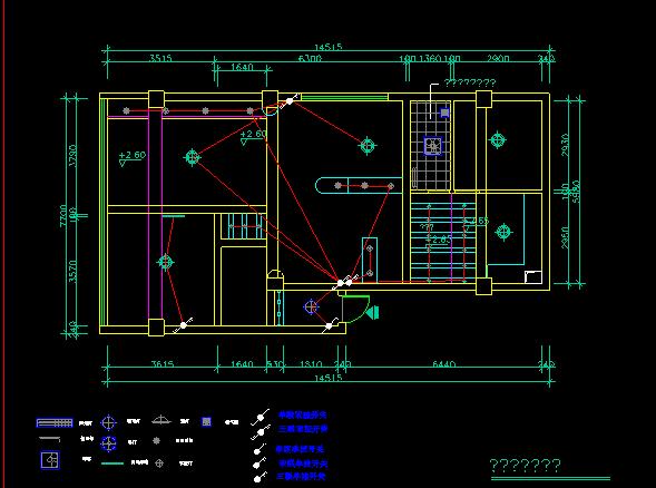 整套復式樓施工圖