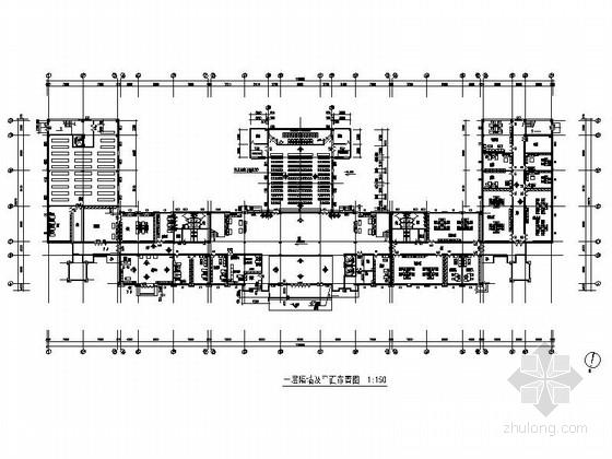 [云南]省级设计院工程现代办公楼室内装修施工图