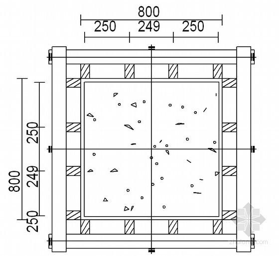 [湖北]框剪結構博物館工程高大模板支撐施工方案