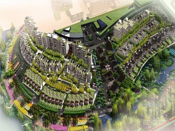 [湖北]荆楚文化青年活力居住区景观规划设计方案(北京著名景观公司)