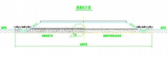 [重庆]某地块场平工程招标文件(含图纸)-换填设计图