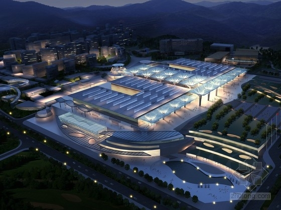 [贵阳]可持续性省级会展中心建筑设计方案文本(知名设计院)