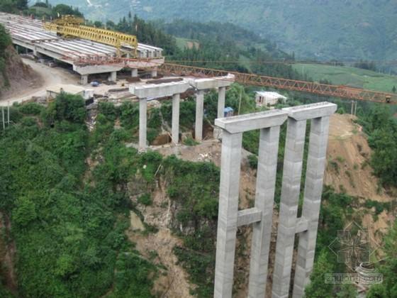矩形墩柱及盖梁施工方案(WDJ碗扣型支撑架 多图)