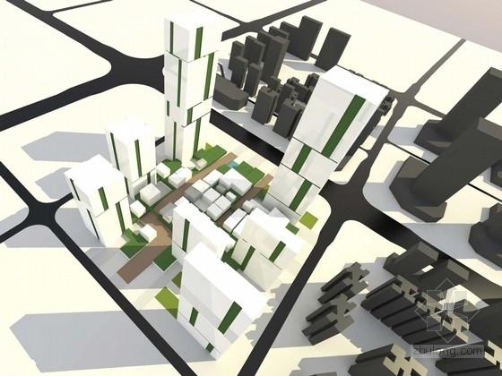 [广东]知名地产核心地块城市综合体规划设计方案文本(两种方案)
