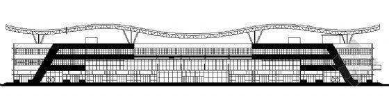 汽车站建筑设计图